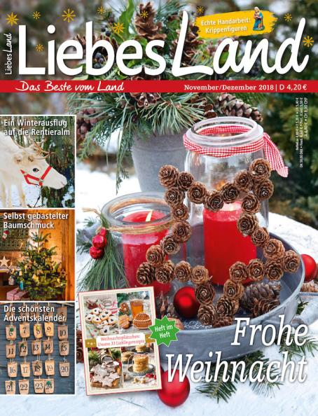 Liebes Land 2018 / 6 Cover
