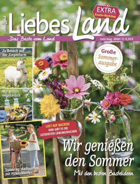 Liebes Land 2020 / 4 Cover