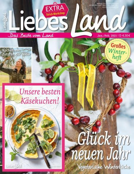Liebes Land 2021 / 1 Cover