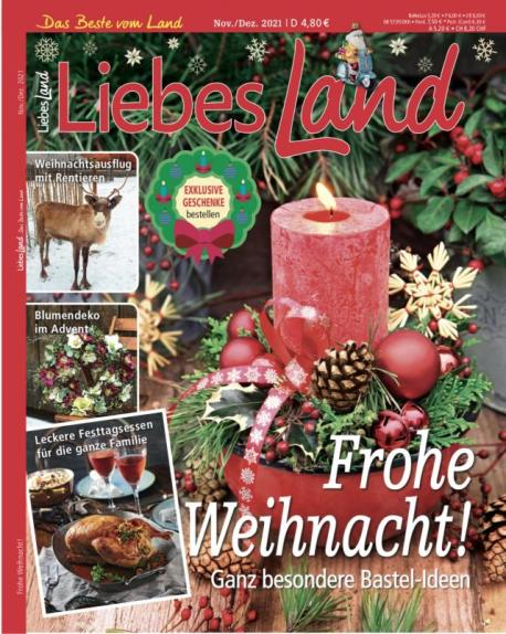 Liebes Land 2021 / 6 Cover